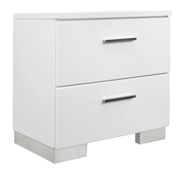 Mcmillion 2 Drawer Nightstand by Mercer41