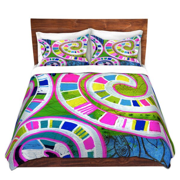Seifert Robin Mead Round And Round Duvet Cover Set