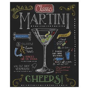 Martini by Fiona Stokes-Gilbert Vintage Advertisement by Prestige Art Studios