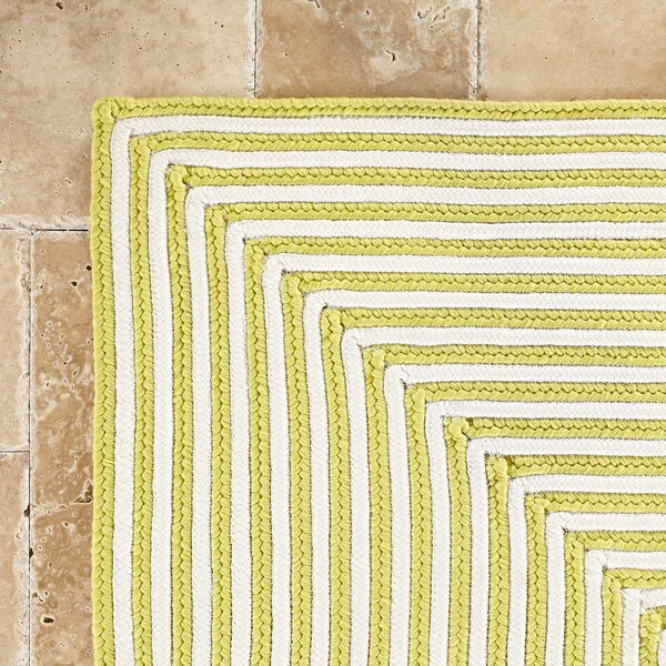 Marcelina Yellow Indoor/Outdoor Rug by Birch Lane™