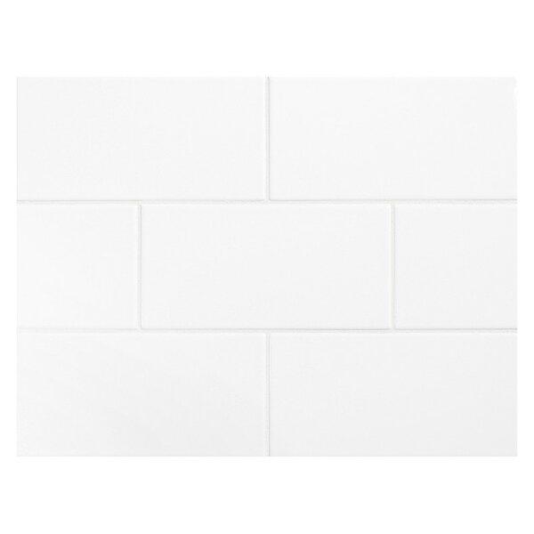 Value Series 3 x 6 Ceramic Subway Tile in Bright G