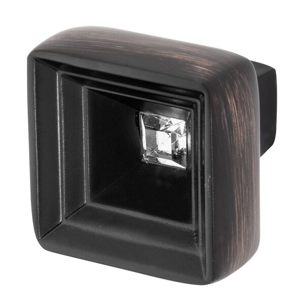 Hidden Treasure Square Knob by Wisdom Stone