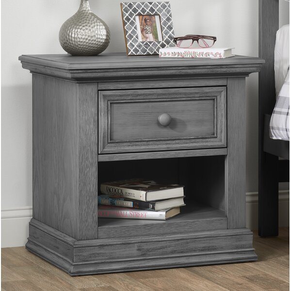 Mitzi 1 Drawer Nightstand by Birch Lane™ Heritage