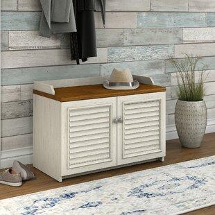Compare prices Oakridge 8 Pairs Shoe Storage Cabinet ByBeachcrest Home