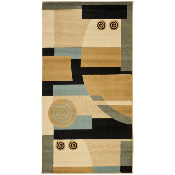 Charis Black/Multi Rug by Ebern Designs