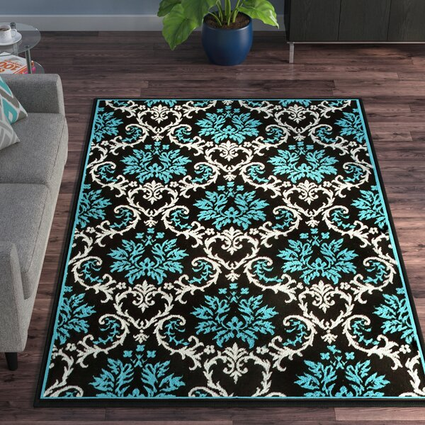 Bachangada Blue Indoor/Outdoor Area Rug by Ebern Designs