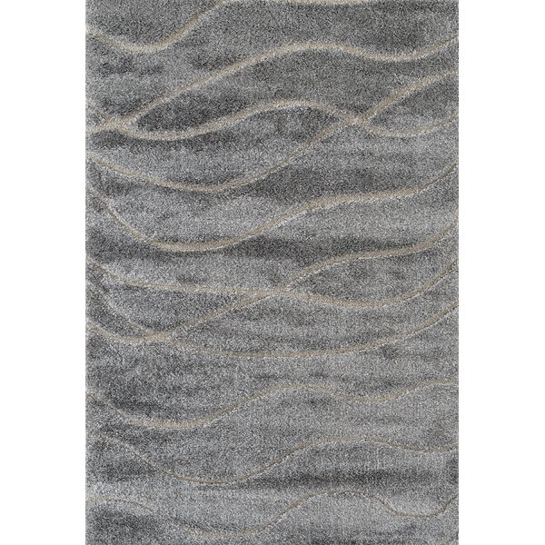 Dostie Gray Area Rug by Ebern Designs