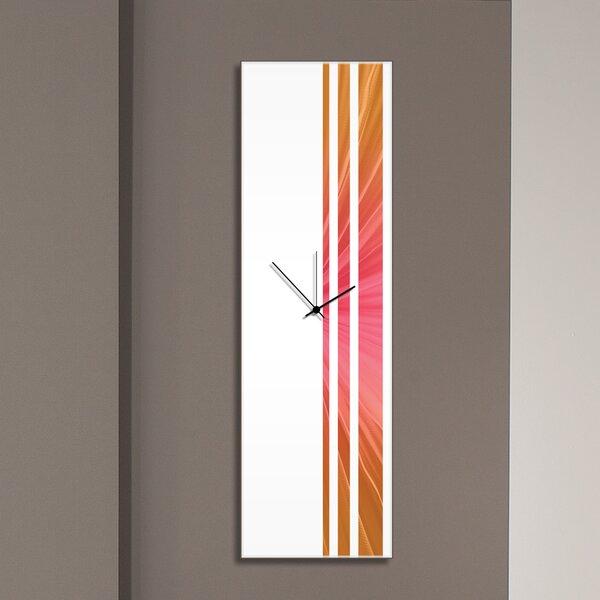 Cool Triple Stripe Clock by Metal Art Studio