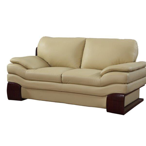 Hawthorn Luxury Upholstered Living Room Loveseat by Orren Ellis