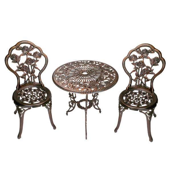 Louise 3 Piece Bistro Set by Astoria Grand