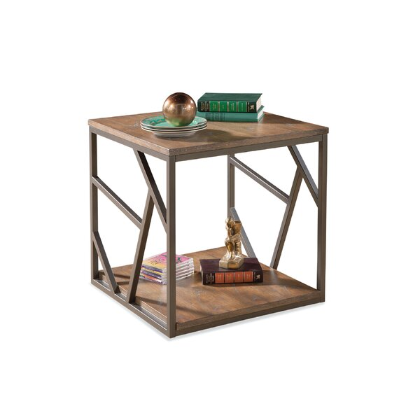 Olivas End Table by Union Rustic