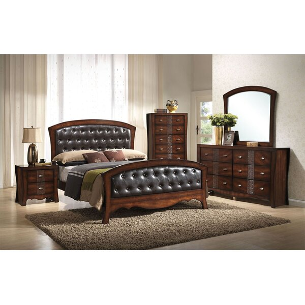 Pulido Panel 5 Piece Bedroom Set by Astoria Grand