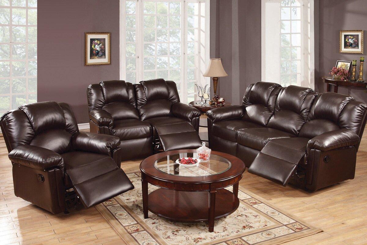 A&J Homes Studio Andy 3 Piece Living Room Set & Reviews | Wayfair