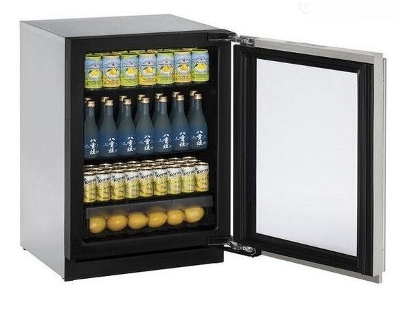 3000 Series Stainless Steel 24-inch 4.9 cu. ft. Undercounter Refrigeration by U-Line