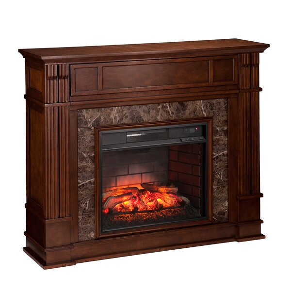 Concord Infrared Media Electric Fireplace by Loon Peak