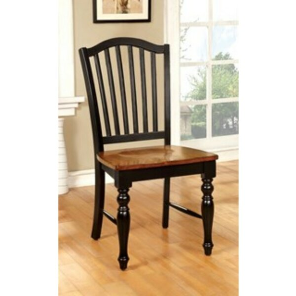 Tatem Solid Wood Dining Chair (Set of 2) by August Grove August Grove