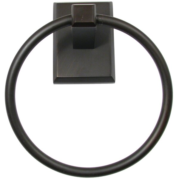 Utica Wall Mounted Towel Ring by Rusticware