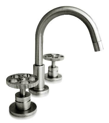 Metro Coin Widespread Bathroom Faucet with Drain Assembly by Harrington Brass Works Harrington Brass Works