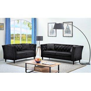 Clem 2 Piece Living Room Set by Mercer41