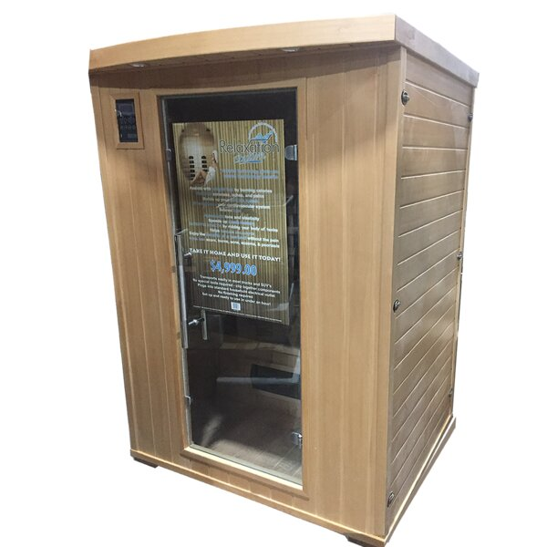 Relaxation Station 2 Person FAR Infrared Sauna by TMI Gifts