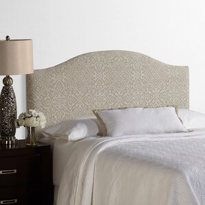Lesa Palermo Upholstered Headboard by House of Hampton
