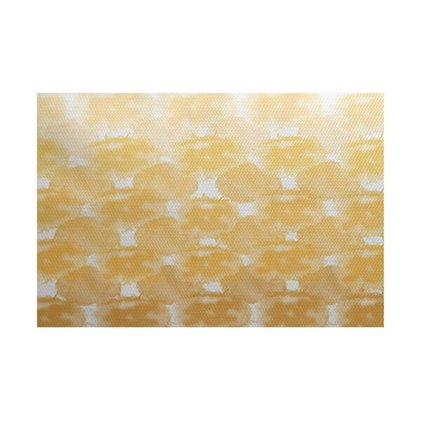 Viet Yellow Indoor/Outdoor Area Rug by Bloomsbury Market