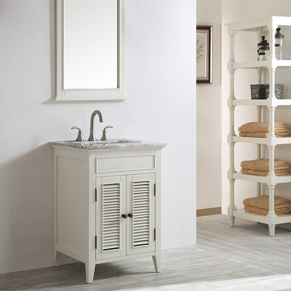 Grovetown 25 Single Bathroom Vanity Set with Mirror by Laurel Foundry Modern Farmhouse