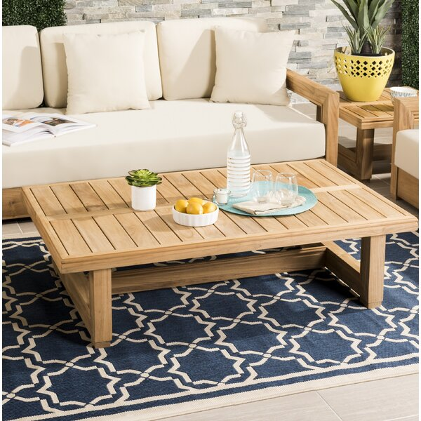 Lakeland Solid Wood Side Table by Rosecliff Heights