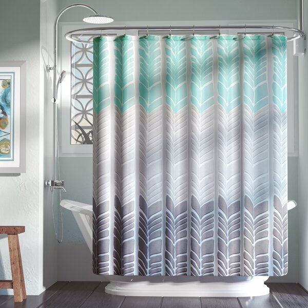 Knarr Printed Shower Curtain by Zipcode Design