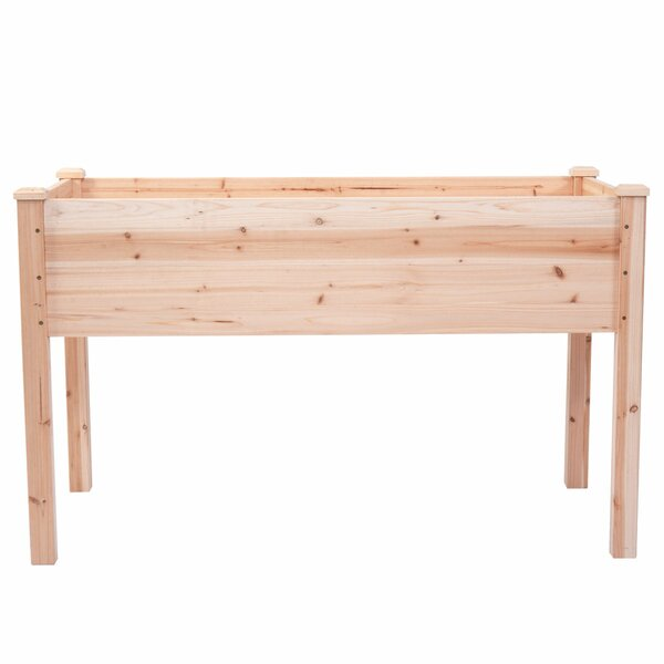 Timothy Vegetable Garden 4 ft x 2 ft Cedar Wood Raised Garden by Freeport Park