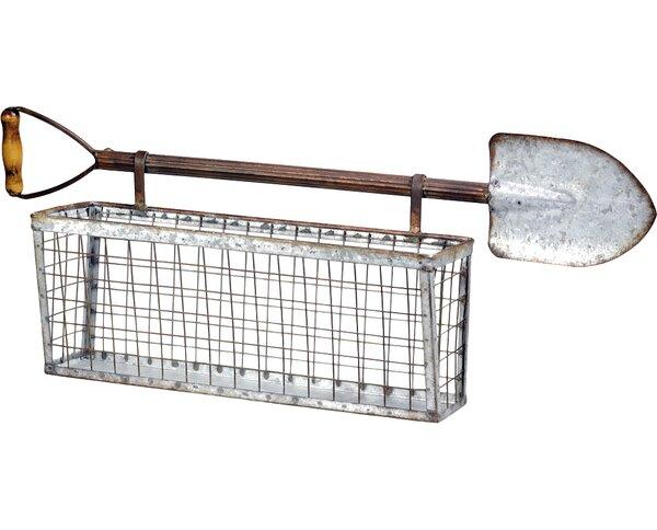 Metal Window Box Planter by Boston International