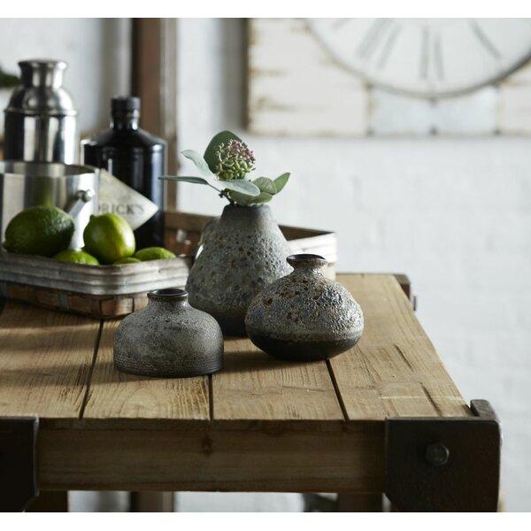 Norridge Porcelain 6 Piece Table Vase Set by Union Rustic