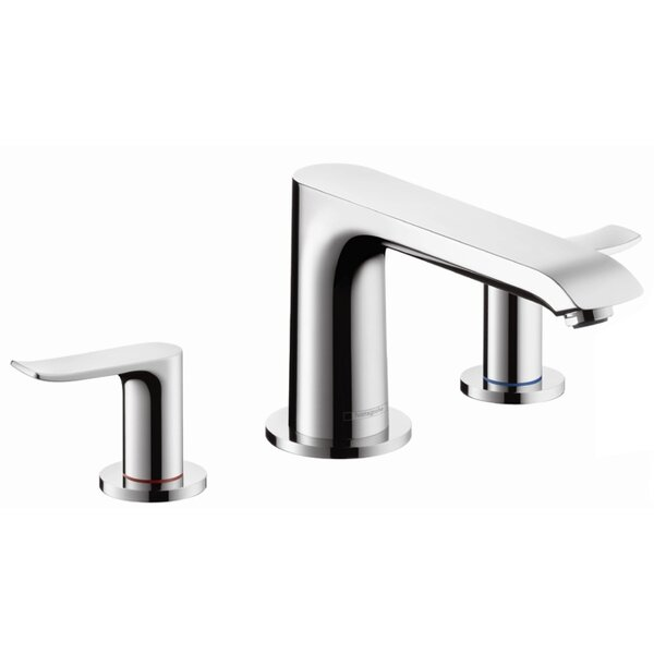 Metris Two Handle Deck Mounted Roman Tub Faucet by Hansgrohe