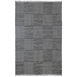 Best Synthia Hand-Loomed Black Area Rug By Laurel Foundry Modern Farmhouse