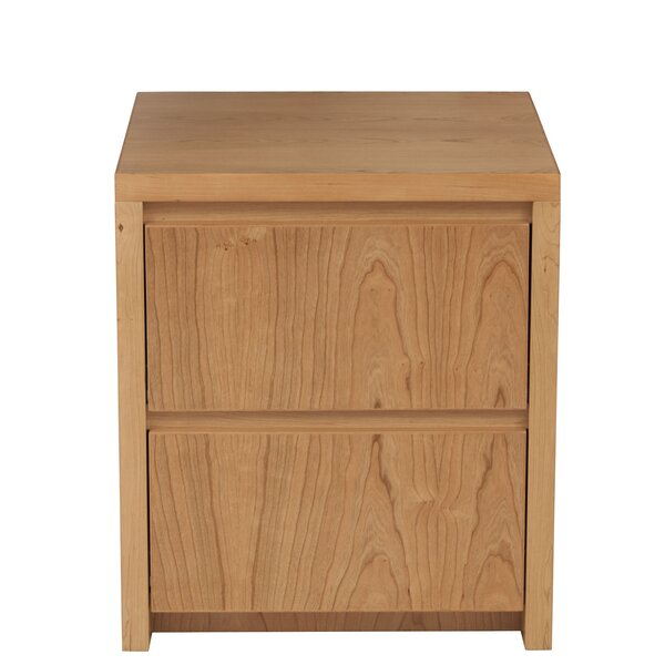 Kadon 2 Drawer Nightstand by Orren Ellis