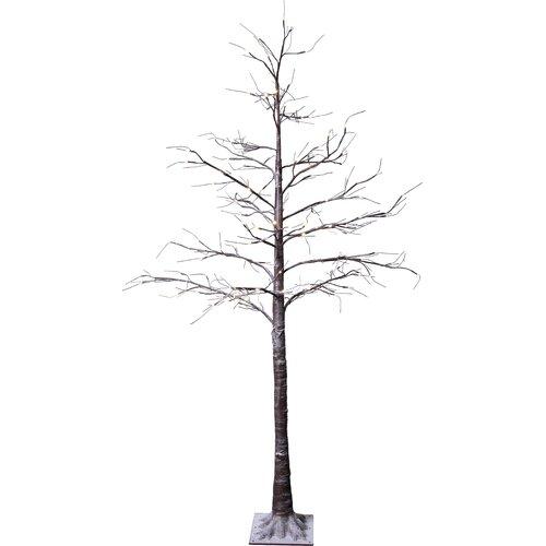 Künstlicher Weihnachtsbaum 210 cm mit 124 LED-Leuchten in Warmweiß und Ständer Belle Die Saisontruhe   Weihnachten > Weihnachtsbeleuchtung   Die Saisontruhe