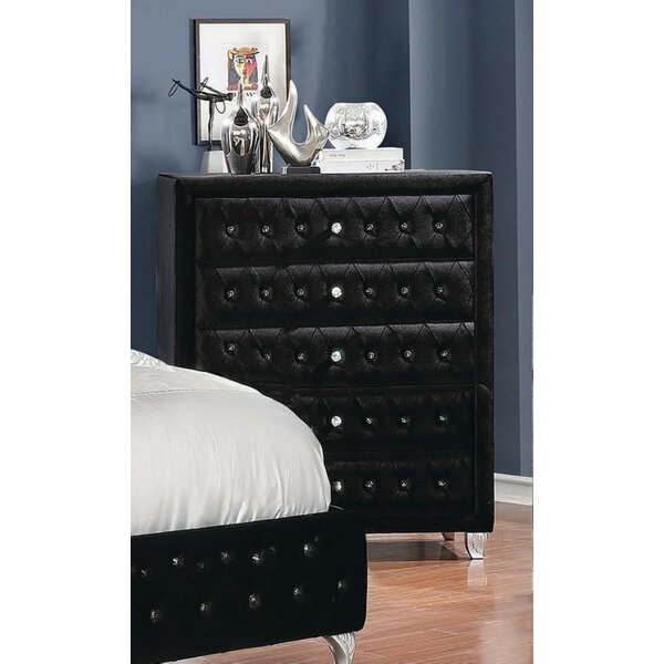 Guidry 5 Drawer Chest by Mercer41
