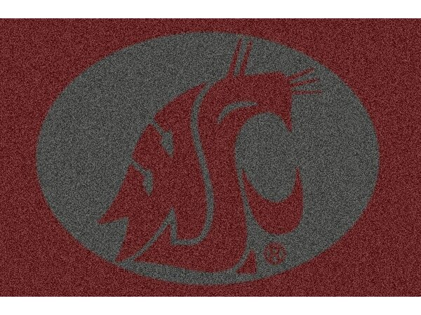 Collegiate Washington State University Doormat by My Team by Milliken