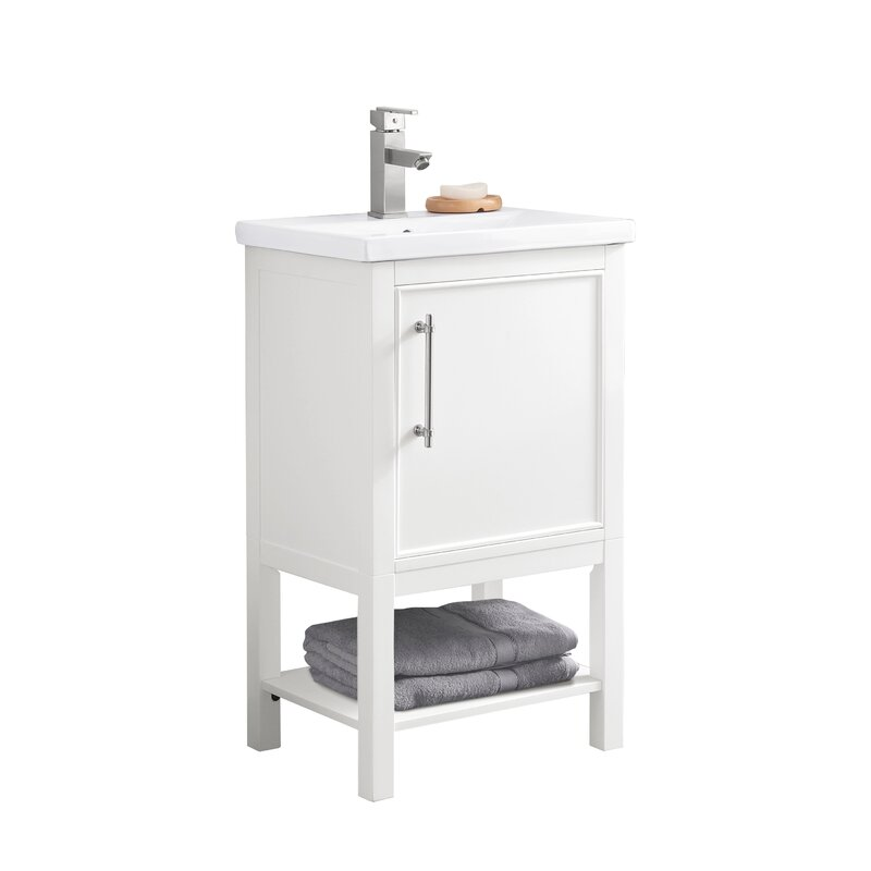 Briaca 20 Single Bathroom Vanity Reviews Allmodern
