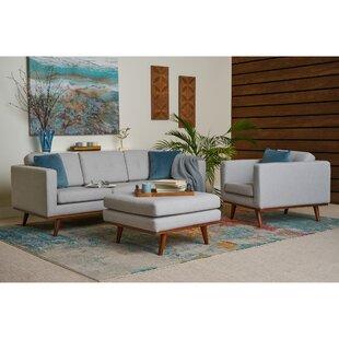 Clevenger 3 Piece Living Room Set by George Oliver