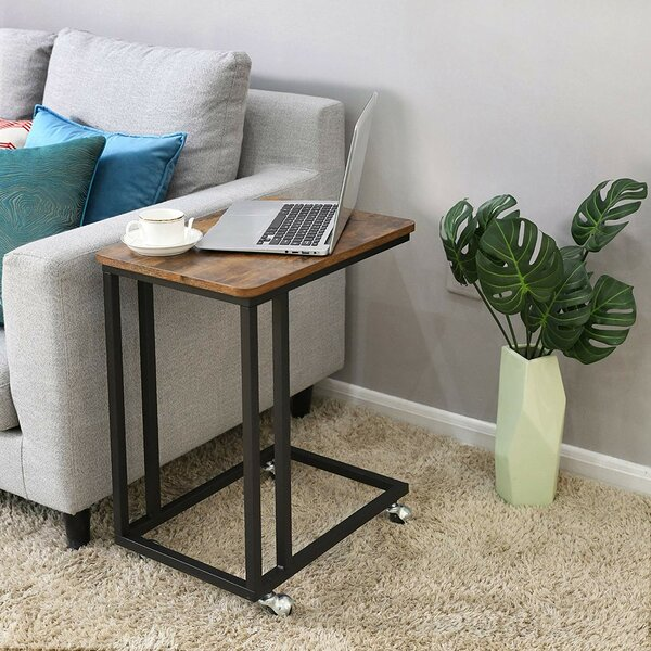 Land Wooden End Table by Williston Forge