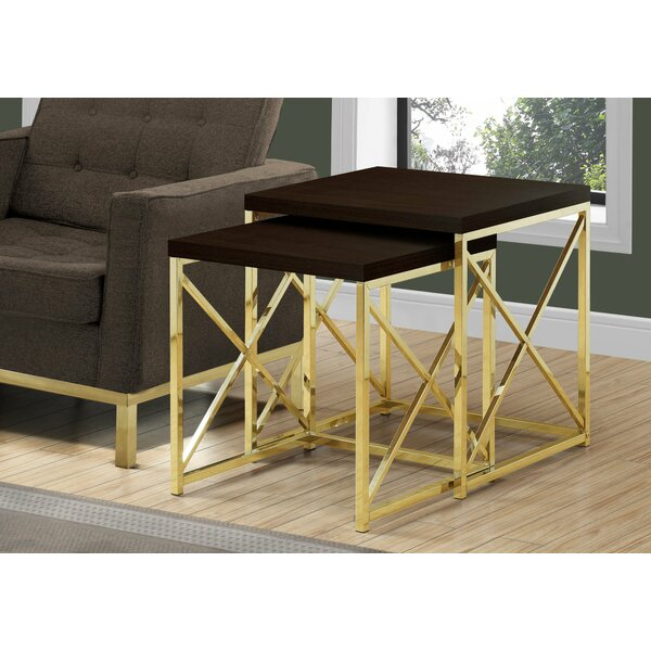 Lees 2 Piece Nesting Tables by Mercer41
