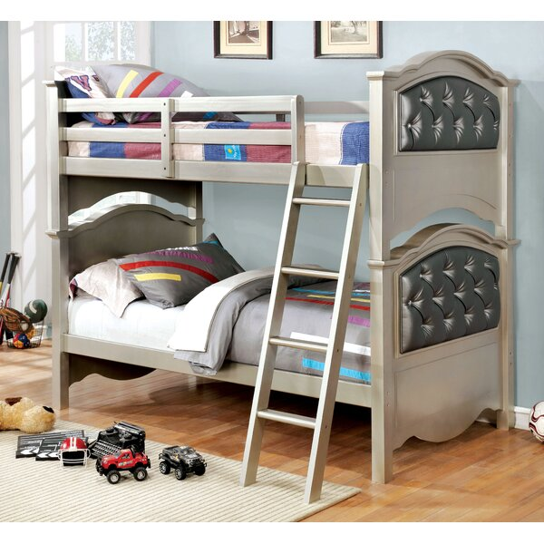 Clyburn Twin Over Twin Bunk Bed by Harriet Bee