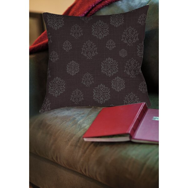 Flowing Medallion Printed Throw Pillow by Manual Woodworkers & Weavers
