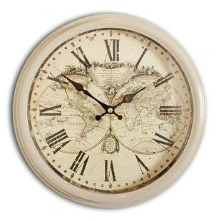 Map of world wayfair lovin days world map 31cm wall clock gumiabroncs Images