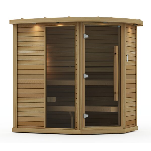 Goldstar 3 Person Traditional Steam Sauna by Premium Saunas