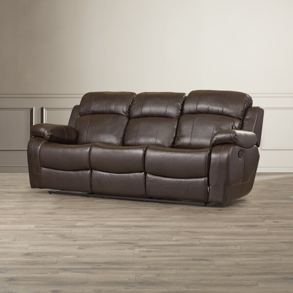 Last Trendy Ullery Double Reclining Sofa by Darby Home Co by Darby Home Co