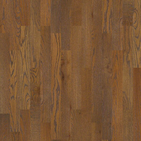 Nalcrest 4 Solid Wood Oak Hardwood Flooring in Tan by Shaw Floors