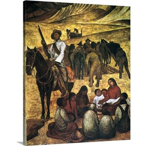 Rivera: Schoolteacher by Diego Rivera Painting Print on Canvas by Canvas On Demand