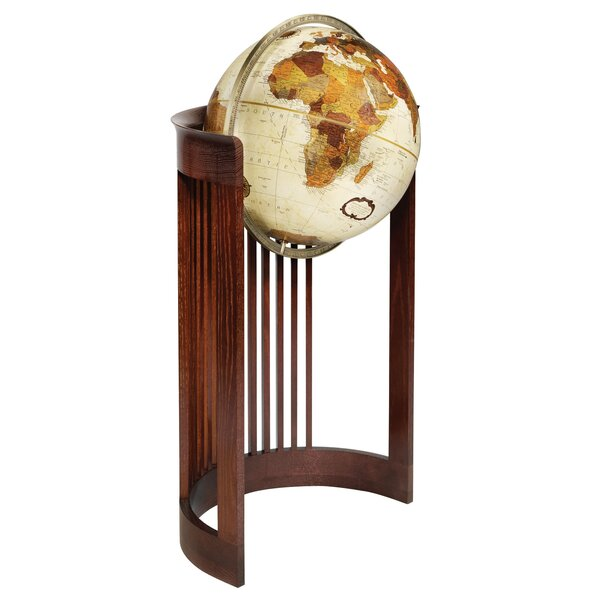 Frank Lloyd Wright® Barrel Floor Globe by Replogle Globes